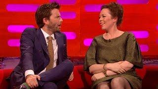 David Tennant & Olivia Colman's sexual tension - The Graham Norton Show: Series 16 - BBC One - Video Youtube