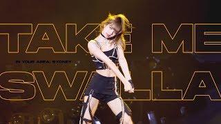 (4k) 190615 BLACKPINK LISA Solo Stage (Take me + Swalla) / 2019 WORLD TOUR in SYDNEY