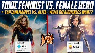 Captain Marvel vs. Alita Battle Angel - What Do Audiences Actually Want?