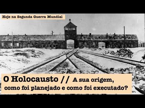 """Assista a """"O Holocausto, a sua origem, como foi planejado e como foi executado?"""