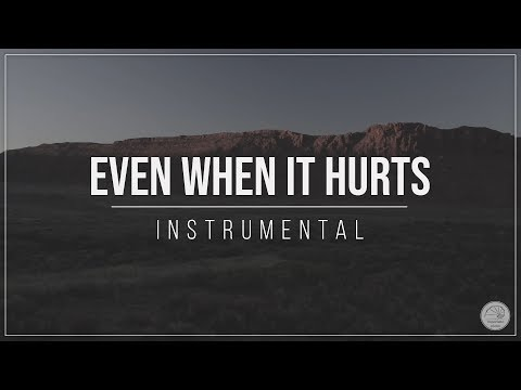 Even When It Hurts - Hillsong United (Piano Instrumental Hope Series EP3 440Hz) Lyrics - cover