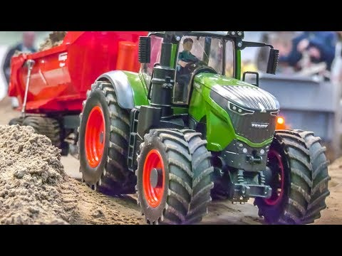 RC Tractors work HARD!