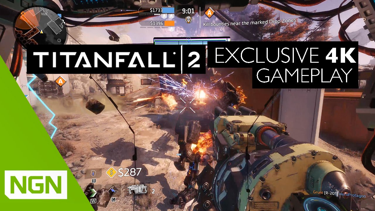 Titanfall 2 In 4K Looks Like Bloody Good Fun