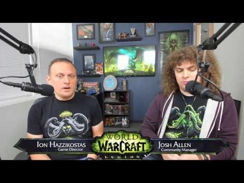 Legion Live Developer Q&A w/ Ion Hazzikostas- April 26, 2017