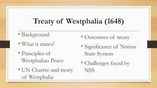 Treaty of Westphalia
