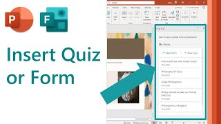 How to insert a Quiz or Form in Microsoft PowerPoint