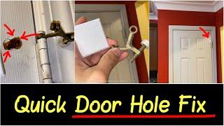 ✅Best Quick Fix for Hole in Door Corner Using Door Wall Bumper Guard | Quick HD Review