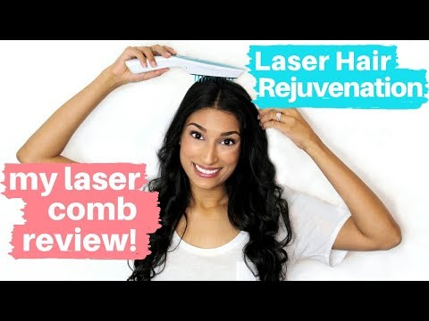 Does Hair Rejuvenation Work? My Laser Comb Review!