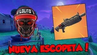 💀 ¡NUEVA ESCOPETA PESADA LEGENDARIA! 💀 ~ FORTNITE