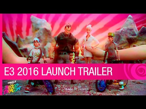 Trials of the Blood Dragon Trailer: Launch - E3 2016 [US] thumbnail