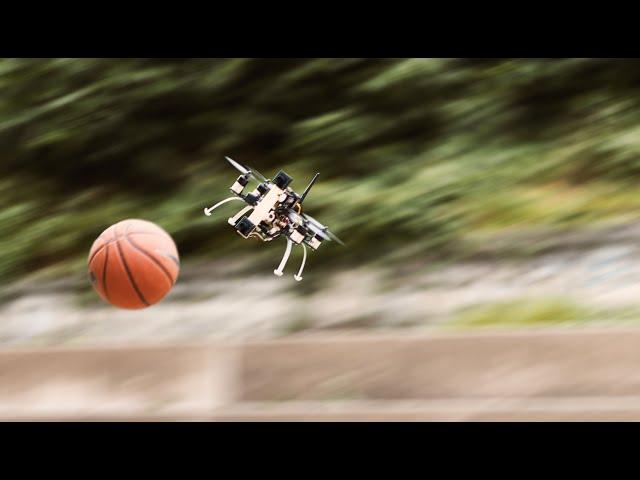 Прорывная система распознавания позволит дронам летать в 10 раз быстрее и не врезаться
