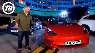 Chris Harris' Fast ELECTRIC Car Buying Guide: Tesla, Taycan, Polestar, Honda e | Top Gear: Series 30