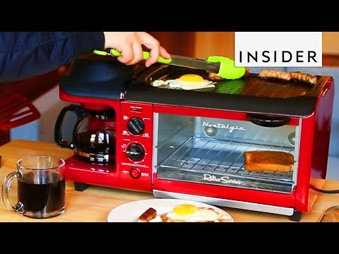 Toaster Cooks Your Entire Breakfast For You