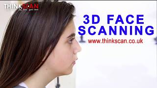 3D face scanning. Non-contact 3D scanning service