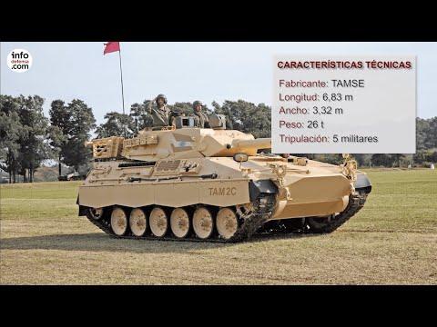 Este el es TAM, el Tanque Argentino Mediano que Argentina quiere modernizar