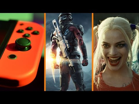 Nintendo Switch's HANDHELD Game + Mass Effect Softcore Porn? + Suicide Squad Wins Oscar - The Know
