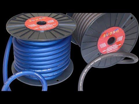 Cable de corriente para amplificador. Lo que debes saber