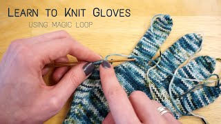 Learn to Knit Gloves | Step-by-Step Tutorial | Knitting House Square