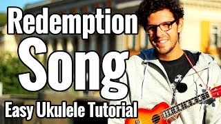 Bob Marley - Redemption Song - Ukulele Tutorial - Fingerstyle Intro & Easy Play Along