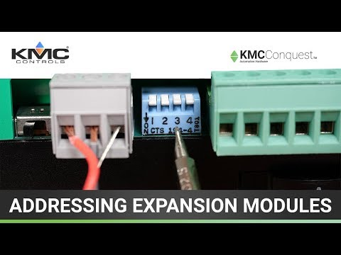 Addressing KMC Conquest Expansion Modules
