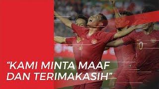 Permintaan Maaf Evan Dimas untuk Masyarakat Indonesia