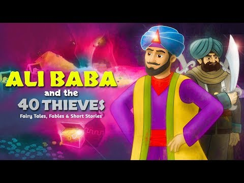 Ali Baba and the 40 Thieves | Bedtime Stories for Kids