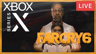 LIVE : Découverte de Far Cry 6 / Xbox Series X