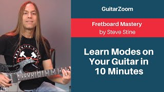 Learn Modes on Your Guitar in 10 Minutes | Fretboard Mastery Workshop