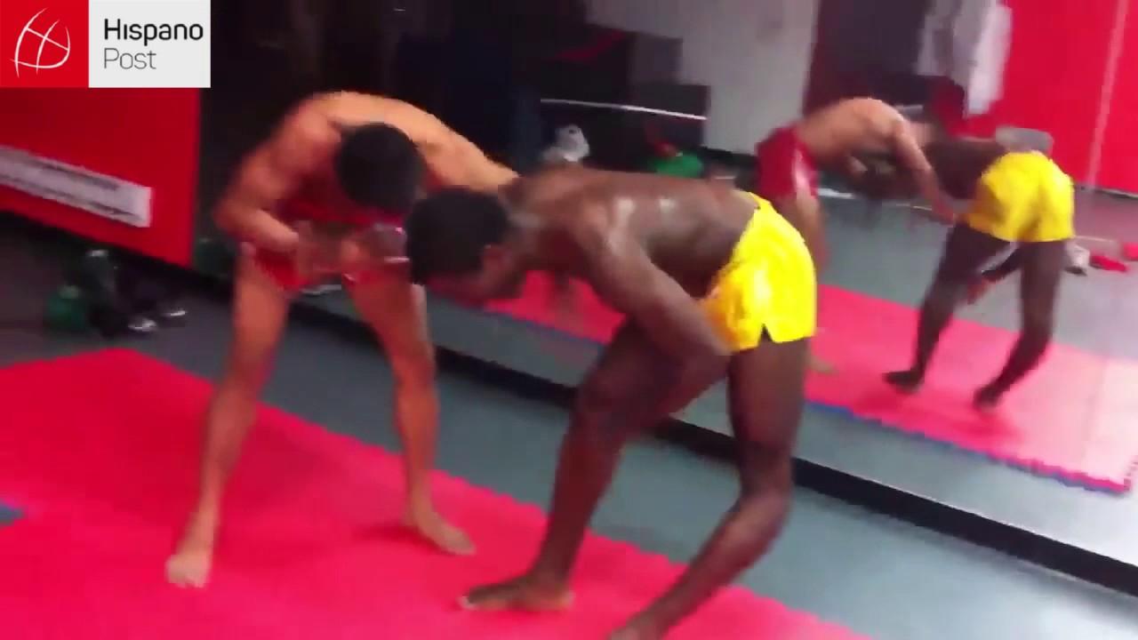 Instructor le quiebra la pierna a un estudiante durante una práctica
