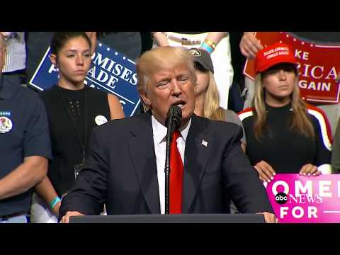 President Trump holds rally in Cedar Rapids, Iowa