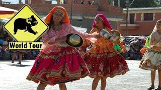 preview picture of video 'Festival de Punata danses traditionelles de Bolivie amerique du sud'