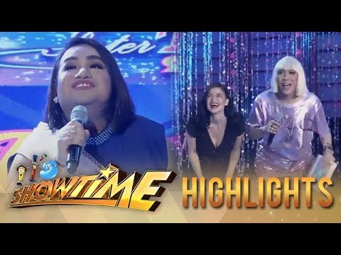 It's Showtime Miss Q and A: Candidate no. 2 wows Vice Ganda and Anne Curtis