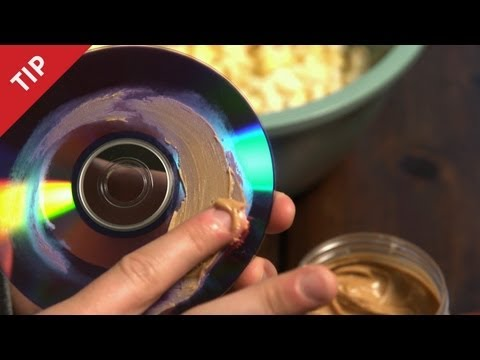 Repair Scratched Discs With Peanut Butter