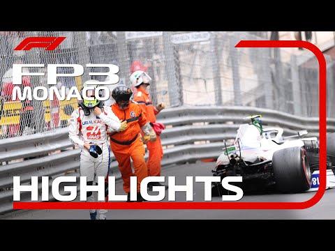 角田裕毅が19番手 F1モナコGP フリー走行3のハイライト動画