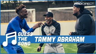 Tammy Abraham stuns Chunkz & Yung Filly with insane vocals | Pro:Direct Guess The Song Challenge