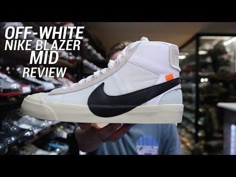 OFF WHITE NIKE BLAZER MID REVIEW