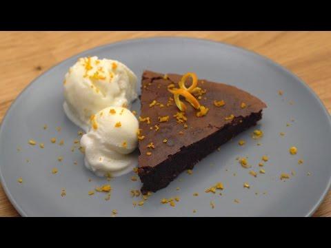Bademli Çikolatalı Kek Tarifi