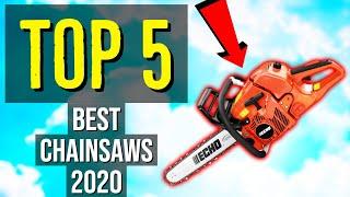 ✅ TOP 5: Best Chainsaw 2020