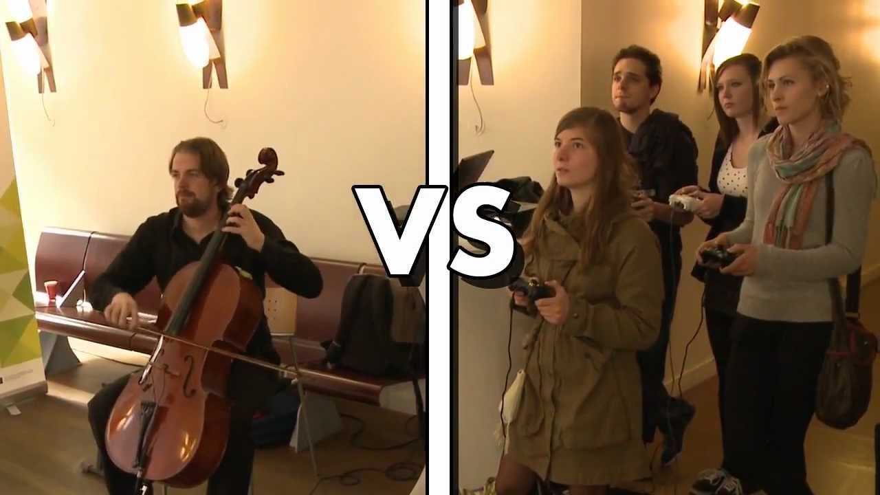 This Game Pits Players Against An Improvising Cellist