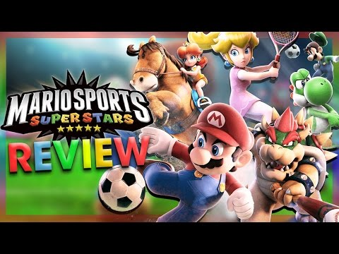 MARIO SPORTS SUPERSTARS REVIEW! (Nintendo 3DS)