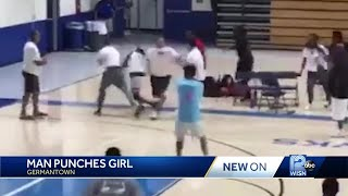 On video: Basketball coach punches teen opponent