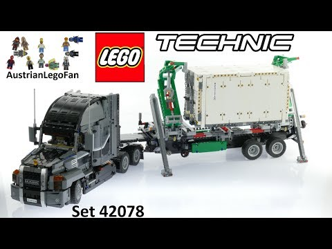 Vidéo LEGO Technic 42078 : Mack Anthem