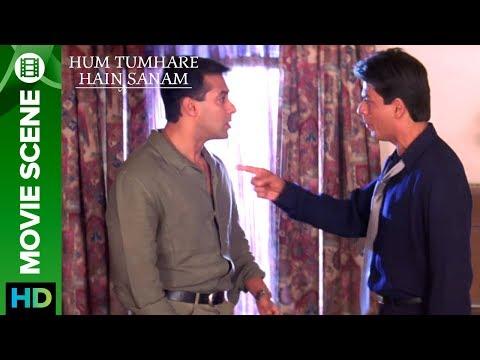 Shahrukh Khan Slaps Salman Khan - Hum Tumhare Hai Sanam