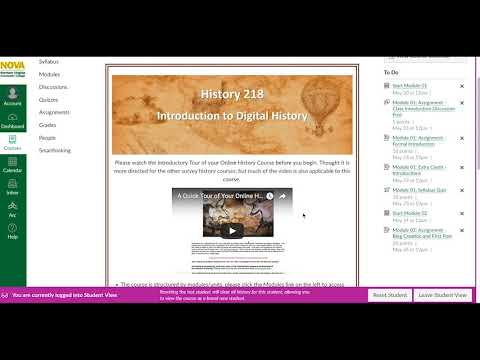 Introduction to Your Online History Course 2019 - YouTube