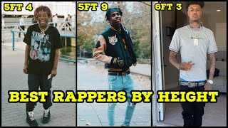 BEST RAPPERS BY HEIGHT 2019 (5FT  - 6FT 6) 🔥