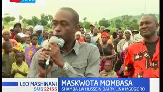 Maskwota wa Nguu Tatu watakiwa kutoondoka