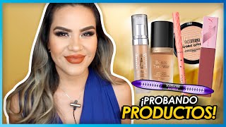 Probando Atelier , Maybelline, Too Faced Etc. | Mytzi Cervantes