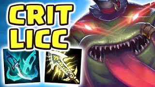 TAHM KENCH JUNGLE IS ACTUALLY BROKEN!! NEW META CRIT BUILD | IS THERE ANY COUNTERPLAY?! - Nightblue3