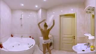 Наташа в ванной 360 градусов