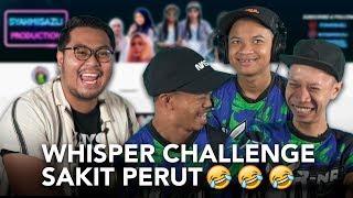 Whisper Challenge Pecah Perut Bersama Syahmi, Asif & Yoe :D